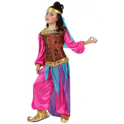Costume Orientale rose enfant