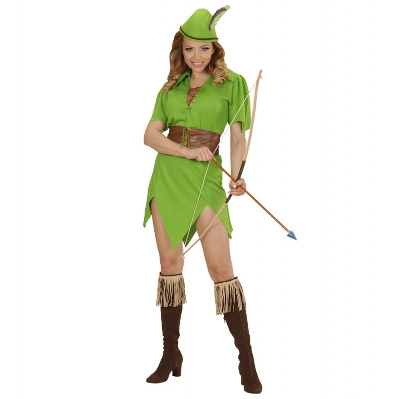 costume robin des bois femme