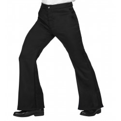 Pantalon 70-80 disco noir