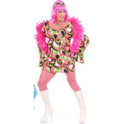 robe drag queen verte