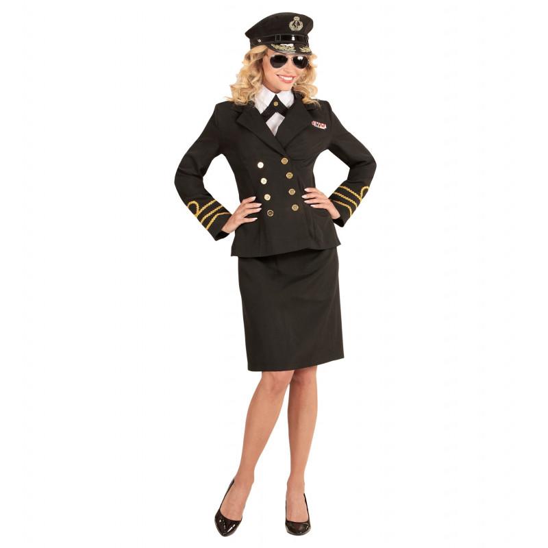 costume officier marine femme