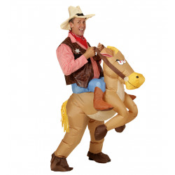 costume cheval gonflable