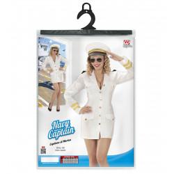 déguisement robe capitaine femme