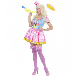 costume bonbon rose
