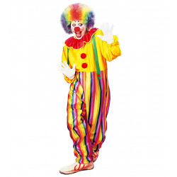 costume clown multi