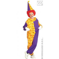 Costume Clown a pois enfant