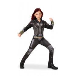 costume black widow enfant