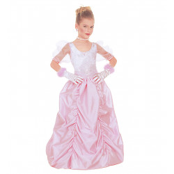 costume princesse rose fille