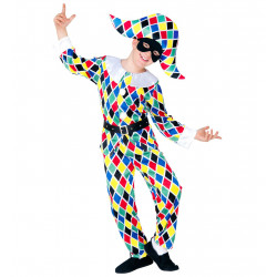 Costume Arlequin / Clown BM...