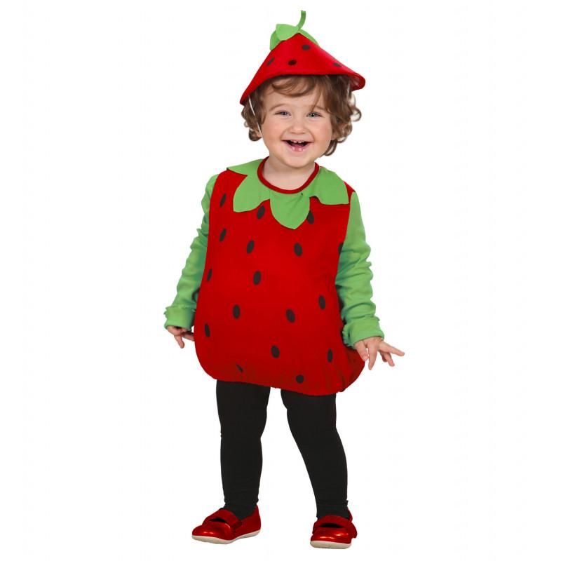 costume fraise bébé