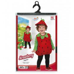 déguisement fraise bébé