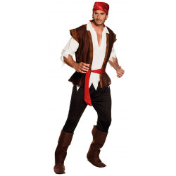 costume pirate des caraibes homme