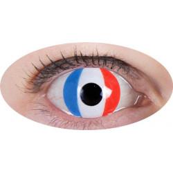 lentilles tricolore