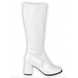bottes blanches disco