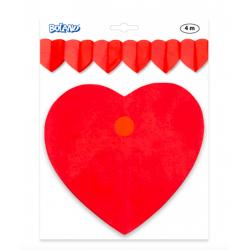 guirlande coeur rouge