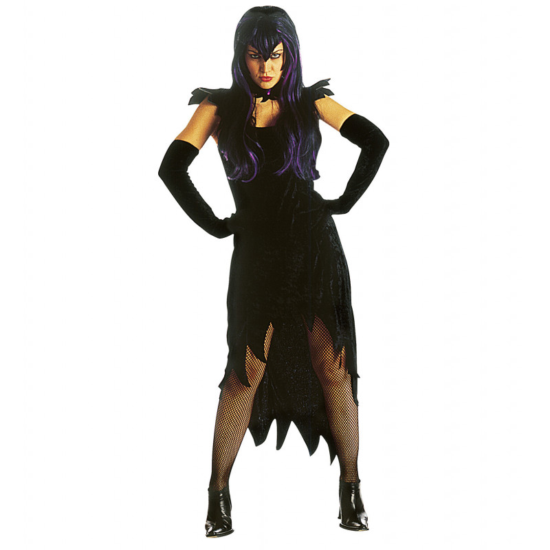 costume sorcière velours