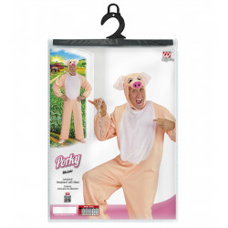 costume de cochon rose