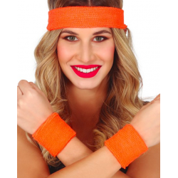 set bandeau orange