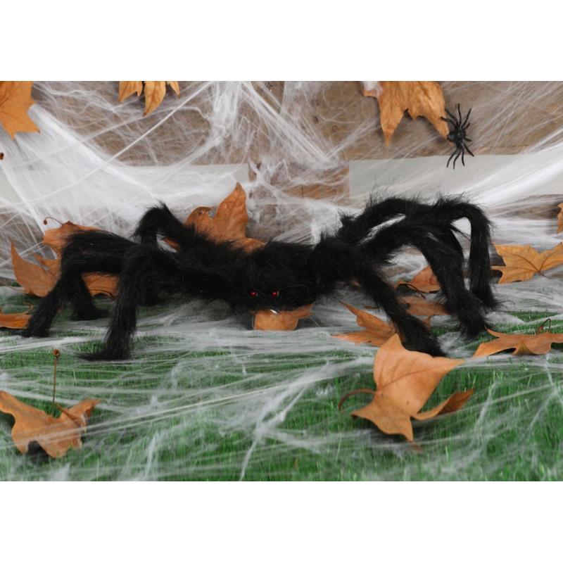 araignée peluche maxi