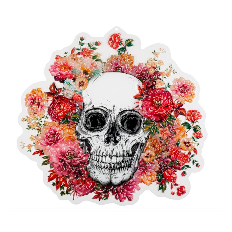 décoration murale tête de morts