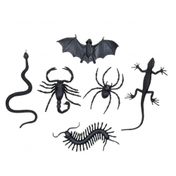 6 insectes factices