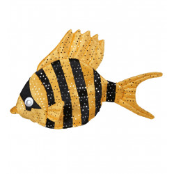 Coiffe poisson orange