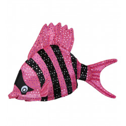 Coiffe Poisson rose