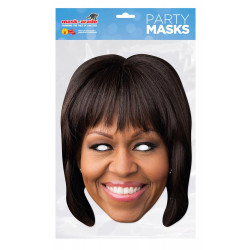 Masque Michelle Obama en carton