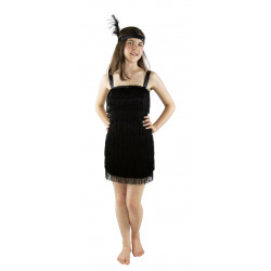 Costume Charleston noir enfant