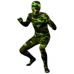 Costume Morphsuits Militaire
