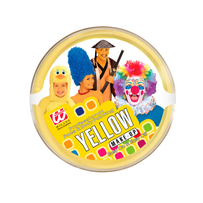 Maquillage Pot jaune