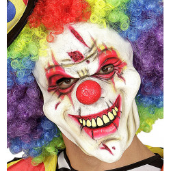 Masque souple Clown tueur