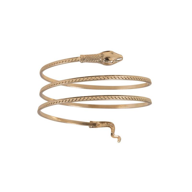 Bracelet serpent métal