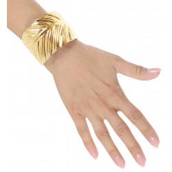 Bracelet laurier métal