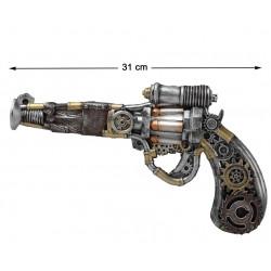 Pistolet Revolver Steampunk...