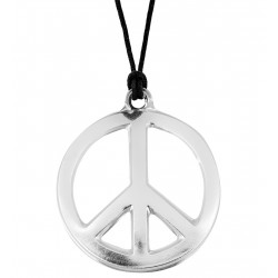 Collier hippie en plastique