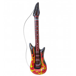 Guitare Fire gonflable