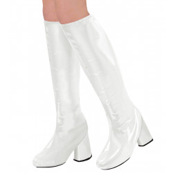 Cache bottes blanches