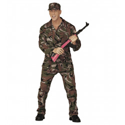 Costume Militaire Homme...