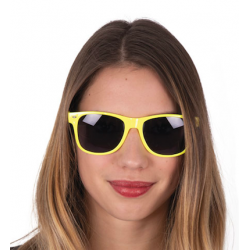 Lunettes Ray jaune fluo