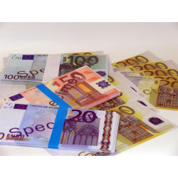 Billets factices euros