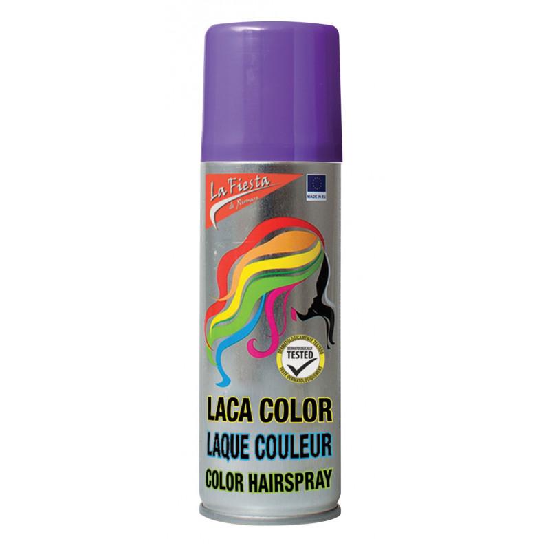 Bombe cheveux couleur violet