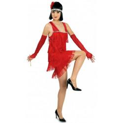 Costume Charleston rouge