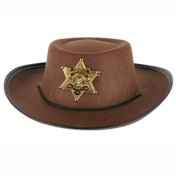 Chapeau Cow boy marron PM