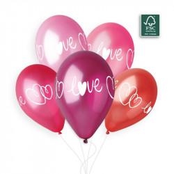 5 ballons Love