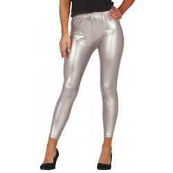 Legging métallisés Silver /...