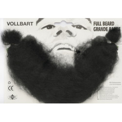 Barbe / Collier noir/