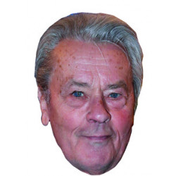 Masque Alain Delon
