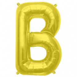 Ballon Lettre B OR