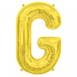 Ballon Lettre G OR